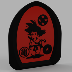 Download free 3D printing models Son Goku - San Goku - Dragon Ball - Songoku - Sangoku V2, yb__magiic