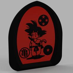 SonGokuV4.PNG Download free STL file Son Goku - San Goku - Dragon Ball - Songoku - Sangoku V2 • 3D printable object, yb__magiic