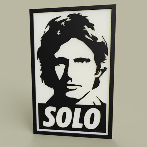 Télécharger fichier STL gratuit StarWars - Han Solo, yb__magiic