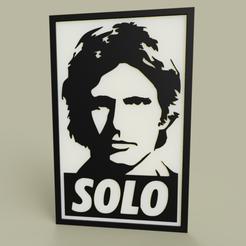 Descargar Modelos 3D para imprimir gratis StarWars - Han Solo, yb__magiic