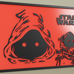 Download free 3D printer templates StarWars JAWAS, yb__magiic
