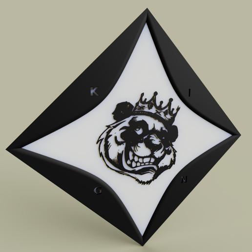 Télécharger fichier STL gratuit Notre roi des ours • Design à imprimer en 3D, yb__magiic