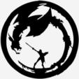 f6e01884fdec5c7e2222c4c9799c816a.png Télécharger fichier STL gratuit Guerrier vs Dragon - Guerrier vs Dragon • Objet à imprimer en 3D, yb__magiic