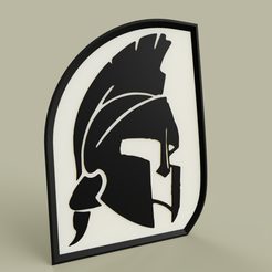 Download free 3D model Haume Sparte - Spartan helmet, yb__magiic