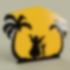 Télécharger STL gratuit Livre de la jungle - Baloo Mowgli, yb__magiic