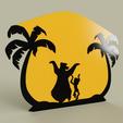 0e0ecc43-1995-452c-bd6c-234d741fede1.PNG Télécharger fichier STL gratuit Livre de la jungle - Baloo Mowgli • Design imprimable en 3D, yb__magiic
