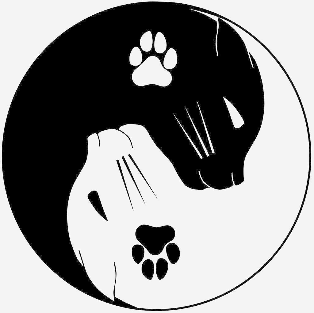 5db686cb337604d01e05298c575412d4.png Download free STL file chatons kawai + chat ying yang - cute kitten + cat ying yang • 3D printable design, yb__magiic