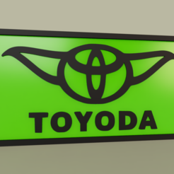 Download free 3D print files StarWars - YODA - Toyoda, yb__magiic