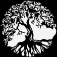 Download free STL tree - arbre, yb__magiic