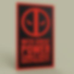Deadpool_v1.stl Télécharger fichier STL gratuit Deadpool • Plan pour impression 3D, yb__magiic