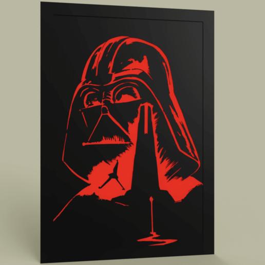 Télécharger fichier imprimante 3D gratuit StarWars - Forteresse - Dark Vador, yb__magiic