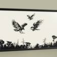 Eagles_2019-Apr-26_11-29-02AM-000_CustomizedView12814658633.png Download free STL file Eagles • 3D printable template, yb__magiic