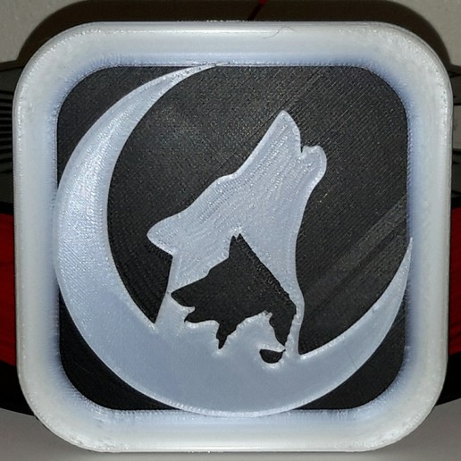 Download free STL file Loups - Wolves - Wolf, yb__magiic