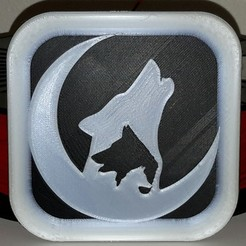 Download free STL file Loups - Wolves - Wolf • 3D printing object, yb__magiic