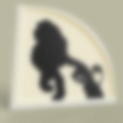 Télécharger fichier imprimante 3D gratuit le roi lion - Lion King Disney, yb__magiic