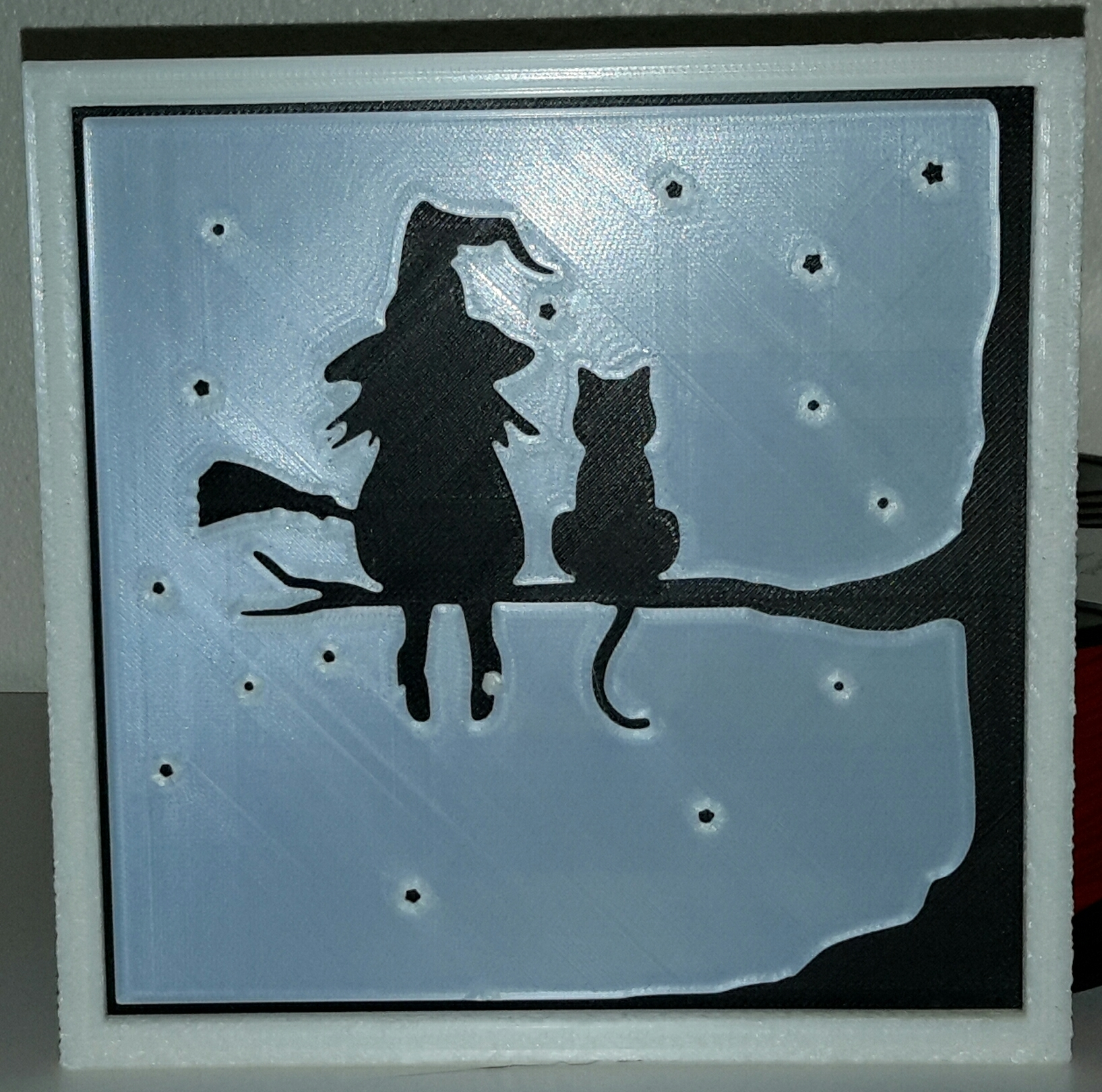 Studio_20190314_071042.jpg Télécharger fichier STL gratuit la sorcière et son chat - the witch and her cat • Objet à imprimer en 3D, yb__magiic
