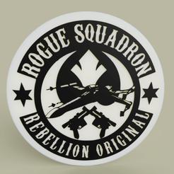 Descargar archivos 3D gratis StarWars - Rogue Squadron, yb__magiic