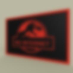 Jurasic_Park_No_Internet_v1.stl Télécharger fichier STL gratuit jurasic Park - Pas d'Internet • Design pour impression 3D, yb__magiic