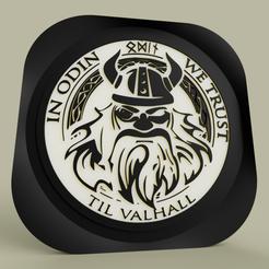 odin.PNG Download free STL file odin • 3D printer design, yb__magiic