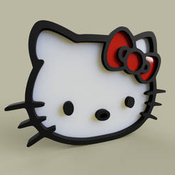 Download free STL Hello Kitty, yb__magiic