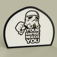 aa7789dc-8179-4c20-a9d1-548a1f9a6458.PNG Télécharger fichier STL gratuit StarWars - StrormTrooper - Votre Empire a besoin de vous • Objet pour impression 3D, yb__magiic