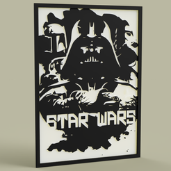 Download free 3D printing designs StarWars DarthVader BobaFett Stormtrooper, yb__magiic