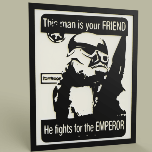 StarWars_This_Man_is_your_FRIEND_-StormTrooper_2019-Apr-28_12-59-00PM-000_CustomizedView2242634826.png Download free STL file StarWars This Man is your FRIEND -StormTrooper - Old Poster • 3D print model, yb__magiic