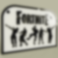 Download free STL files Video Game - Fortnite, yb__magiic