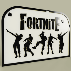 Download free STL file Video Game - Fortnite • 3D print design, yb__magiic
