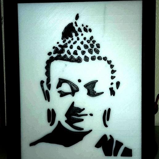 Télécharger fichier STL gratuit Bouddha • Design à imprimer en 3D, yb__magiic