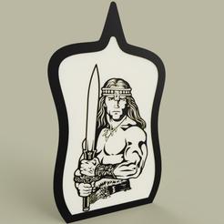 Télécharger fichier STL gratuit Conan le Barbare • Objet à imprimer en 3D, yb__magiic