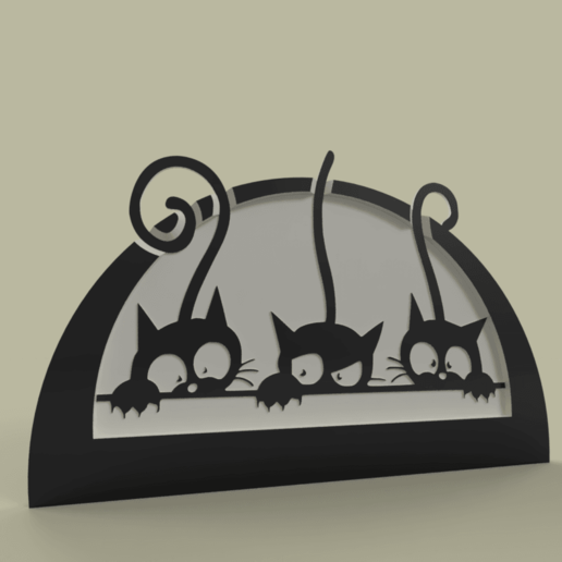 chatons.png Télécharger fichier STL gratuit chatons - chaton • Plan imprimable en 3D, yb__magiic