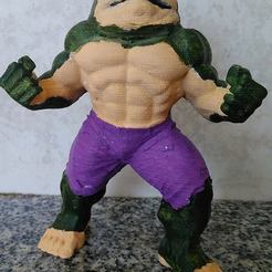 Download 3D printer designs Jabba the Hulk, SAYOS