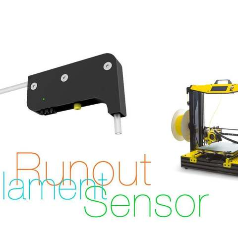 Download free 3D printer templates Filament Runout Sensor, perinski