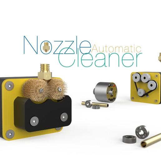 Download free STL Automatic Nozzle Cleaner, perinski