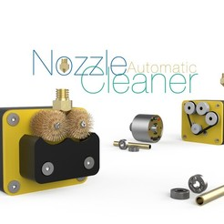 Download free STL file Automatic Nozzle Cleaner • Object to 3D print, perinski
