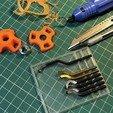 diseños 3d gratis Pomo para tuercas M8, perinski