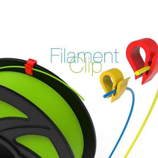 Télécharger fichier STL gratuit Clip de filament • Modèle pour imprimante 3D, perinski