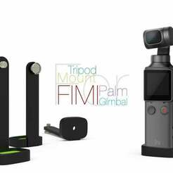 Tripod-Mount-for-Fimi-Palm.jpg Download free STL file Tripod Mount for Fimi Palm Gimbal • 3D print object, perinski