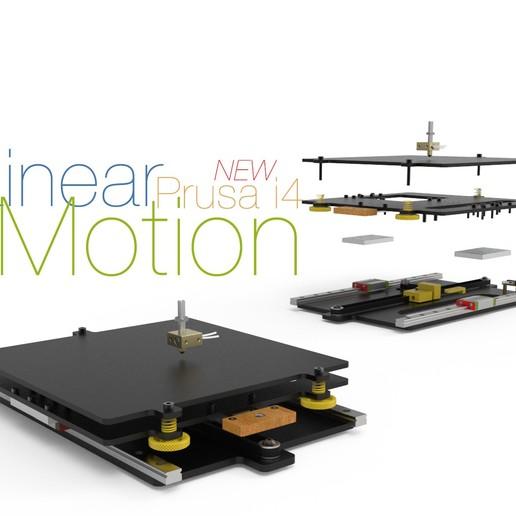 New-Linear-Motion-Prusa-i4-1.jpg Télécharger fichier STL gratuit Nouvelle motion linéaire pour Prusa i4 • Objet imprimable en 3D, perinski