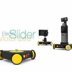 Motorized-Electric-Slider.jpg Download free STL file Motorized Electric Slider • 3D printable model, perinski