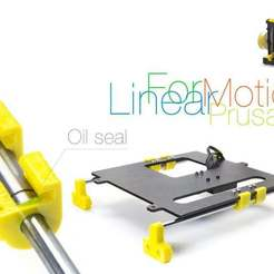 Download free 3D printer model Linear Motion for Prusa i4, perinski