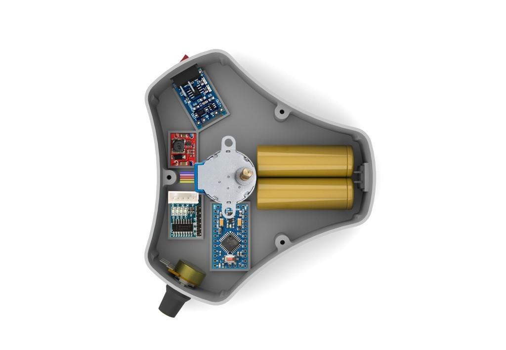 5f732a84bfba6ba0230e11ef4e49ba38_display_large.jpg Télécharger fichier STL gratuit Table tournante pour la peinture • Design à imprimer en 3D, perinski