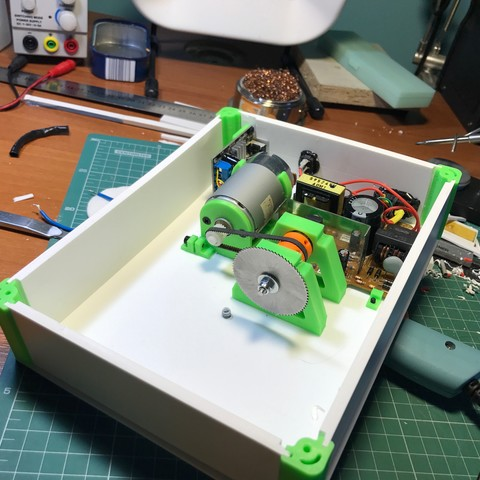 43.jpg Download free STL file Table SAW • 3D print object, perinski