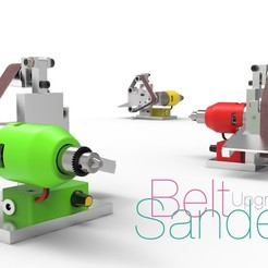 Télécharger objet 3D gratuit Ponceuse à bande - Mise à niveau, perinski