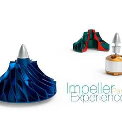 Impeller-Experience-Part-1.jpg Télécharger fichier STL gratuit Expérience de l'impulseur Partie 1 • Design à imprimer en 3D, perinski