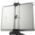 Free 3d print files Clamp for iPad 4 on a tripod, perinski