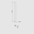 Free 3d model Tripod GIANT width Masked SLA 3D Printing Technology, perinski