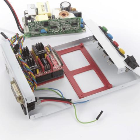 Capture d'écran 2018-04-26 à 10.59.18.png Télécharger fichier STL gratuit Bras pour circuit imprimé pour Arduino UNO et MeanWell EPP-100-24 • Plan pour imprimante 3D, perinski