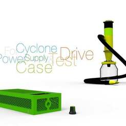 Power-Supply-Case-for-Cyclone.jpg Download free STL file Power Supply Case for Cyclone • 3D print template, perinski
